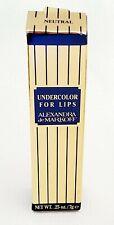 Alexandra De Markoff Undercolor for lips. Neutral color. Waterproof foundation.
