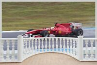 Huge 3D Balcony Formula One Wall Stickers Mural Wallpaper 40