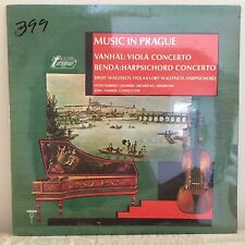 "Sealed: Vandal-Viola Benda-Harpsichord Wallfisch-Faerber TV-34305 33RPM 12"" LP"