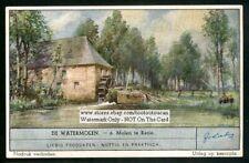 Retie Belgium Watermill Molen c60+ Y/O Trade Ad Card