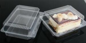 Plastic Disposable Clear Box For Food MIX & PICK UK Selling Top Quality - Cheap