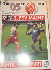 1997/98 2.Bundesliga FSV Mainz 05 - Eintracht Frankfurt