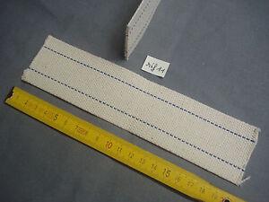 1 mèche plate de lampe à pétrole 48 mm par 200 mm  calibre 10 '' (réf 11)