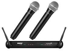 New Wireless Microphone SHURE Set SVX288/PG28 mic