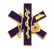 Paramedic EMT Award Letterman Jacket Pin