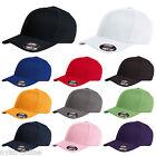NEW PLAIN FLEXFIT CAP FITTED CLASSIC BASEBALL CAPS FLEXIFIT PEAK HAT S-M-L-XL
