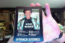 Keni Burke- self titled- Dark Horse label- unplayed 8 Track tape- rare?
