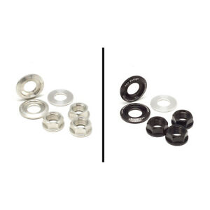 nov rear axle Aluminum Nuts and Washer set (M10) (only for 2 speed) novdesign