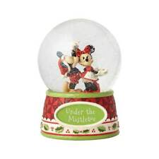 Jim Shore Disney Mickey And Minnie Mouse Under The Mistletoe Waterball 4060275
