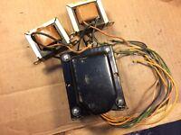 Vintage EL84 Output (2) & Power Transformer (1) Set 1957 for 6BQ5 tube amplifier