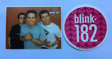 BLINK 182 2-Pack of Stickers Photo/Hearts NEW OFFICIAL MERCHANDISE RRP$10.70 !!!