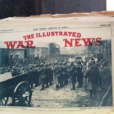 m1d ephemera ww1  1916 picture road to verdun allies play music