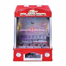 Global Gizmos 50130 Fairground Penny Pusher - Red
