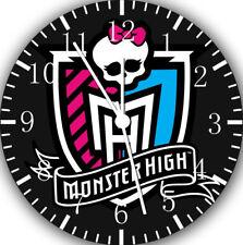 Monster High Frameless Borderless Wall Clock Nice For Gifts or Decor W168