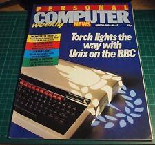 Ordinateur personnel News MAGAZINE. JUIN' 84 (BBC Micro, UNIX, IBM PC)