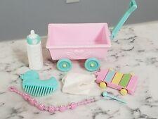 My Little Pony MLP G1 Baby Ribbon Unicorn Wagon Xylophone Mallet Brush Bottle