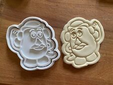 Mr Potato Head Toy Story 2pc Cookie Cutter