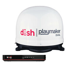 Pl8000R Winegard Satellite Tv Antenna Playmaker Dual Rv & Wally Receiver Bundle