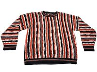 Protege Collection Sweater Vintage Coogi-Style Mens Size XL RARE Color Cosby