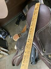 english saddle used 15.5