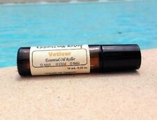 Vetiver Essential Oil Roller Bottle for ADD, ADHD, FOCUS, & CONCENTRATION