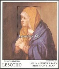 Lesotho 1988 Christmas/Greetings/Titian/Art/Artists/Paintings 1v m/s (n16380)