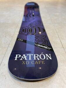 Patrón XO CAFE x SIMS 154 Branded Snowboard