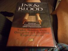 THE MUSEUM EXHIBIT OF THE BIBLE DVD INK & BLOOD BRAND NEW SEALED