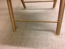 4 x Sm Castor Cups Clear - 5cm dia - floor protectors/easy move