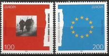 Allemagne 1995 NEUF SANS CHARNIÈRE-EUROPA PAIX ET LIBERTÉ fin de guerre Mi 1790-1791 SG 2635-2636
