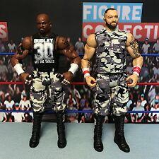 WWE Wrestling Mattel Basic Battle 2 Packs Series 41 Dudley Boys Bubba D-Von Lot
