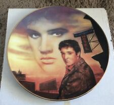 Bradford Exchange Elvis Presley Heartbreak Hotel Plate Delphi Nate Giorgio
