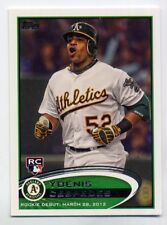 2012 Topps Update YOENIS CESPEDES Rookie Card RC #US42 New York Mets PROSPECT 42