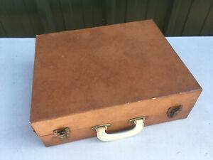 Vintage Wine & glasses carry case (no contents) Lot MR260819D
