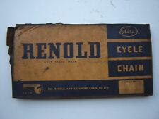 "RENOLD ELITE CYCLE CHAIN 1/2"" x 1/8"" - NOS - NIB"