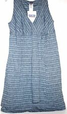 Patagonia NWT Women's Hemp & Organic Cotton Bue Chambray Denim Dress
