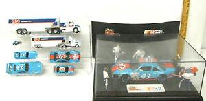 Rare Racing Champions Petty STP #43 Pit Crew Case + Racing Team Car Set 1:64 NIB