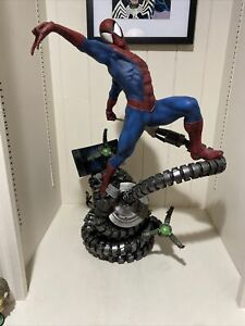 Spider-Man Premium Format™ Figure by Sideshow Collectibles EXCLUSIVE USED