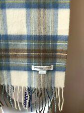 Johnston Cashmere Damen Herren Unisex schal 100% Kaschmir made in Scotland