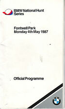 FONTWELL PARK RACECARD MONDAY 4 MAY 1987 VGC