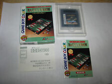 Backgammon Game Boy Color GBC Japan import Complete in Box US Seller