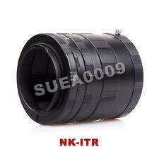 Macro Extension Tube Ring 3 Rings For NIKON Ai AF DSLR & SLR Camera Lens D7000