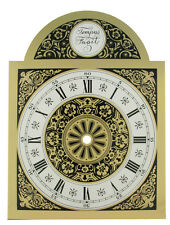 "New Tempus Fugit Metal Clock Dial - Size 7-7/8"" wide x 10-7/16"" high (DM-17)"