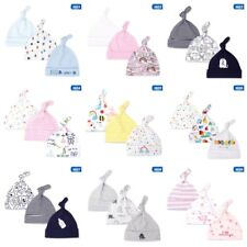 3Pcs Baby Cotton Beanie Soft Girl Boy Knit Hats Toddler Infant Kid Caps Spring