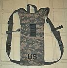 US Army MOLLE II Hydration System Carrier Bladder USGI Military Camo w/Straps