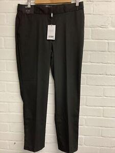 Bnwt Next Tailoring Black Slim Leg Trouser Size 12L