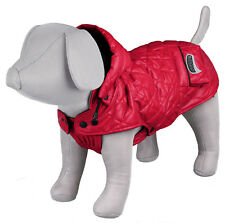 Trixie Dog Red Sila Winter Coat Quilted Reflective 28 / 34cm - 30cm polyester