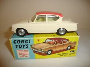 CORGI 234 FORD CONSUL CLASSIC - NR MINT in original BOX
