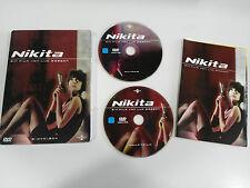 NIKITA - 2 DVD STEELBOOK FRENCH DEUTSCH - GERMAN EDITION LUC BESSON