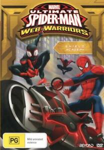 ULTIMATE SPIDER-MAN: WEB-WARRIORS - S.H.I.E.L.D. ACADEMY (2015) [NEW DVD]